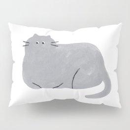 Blue Cat Pillow Sham