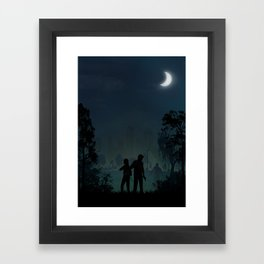 The Last of Us | Warriors Landscapes Serries Framed Art Print