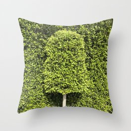 The Tree That Just Wants to Fit In Throw Pillow