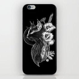 Black Cat iPhone Skin