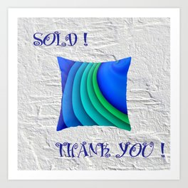 SOLD! THANK YOU! - BLOG POST Art Print