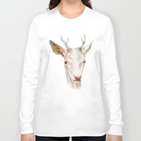 stag Long Sleeve T-shirts featuring Stag by Brandon Keehner