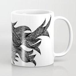 Hair girl Illustration Coffee Mug