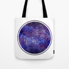 Star Map IV Tote Bag