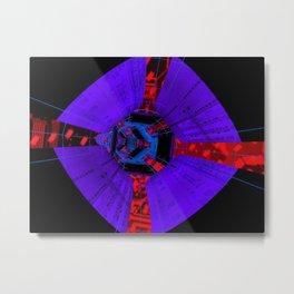 Spacex Metal Print