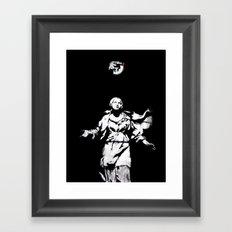 Holy Guns Framed Art Print