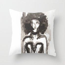 Effected Throw Pillow