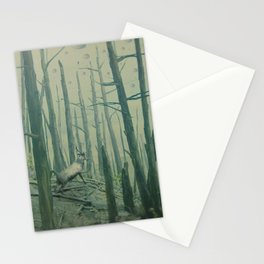 With Canvas Above, We Fall From The Sky Stationery Cards