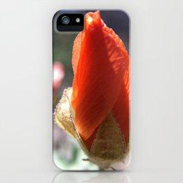 Penstemon Bud iPhone Case
