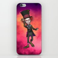 mad hatter iPhone & iPod Skins featuring Mad Hatter by apgme