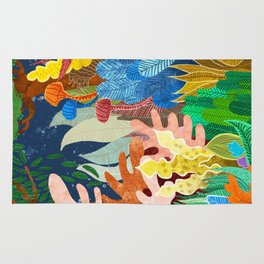 Night Forest Rug