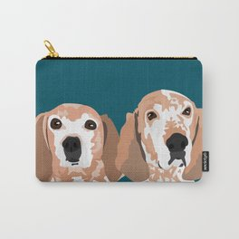Molly and  Elwood Carry-All Pouch