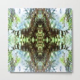 Abstract Forest Design 1398 Metal Print