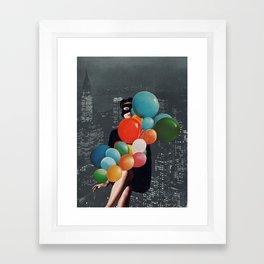BIRTHDAY PRESENT Framed Art Print