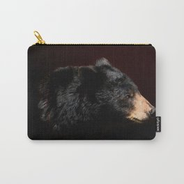 Young Black Bear Portrait Carry-All Pouch