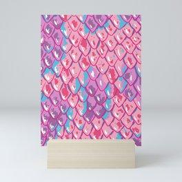 Snake Scales Mini Art Print
