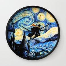 Potter Starry Night Wall Clock