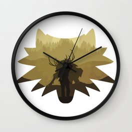 The beast hunt Wall Clock