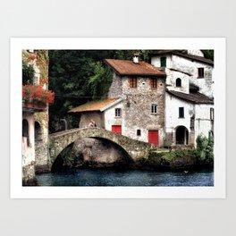 Ponte della Civera Art Print