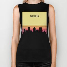 Wichita Skyline Biker Tank