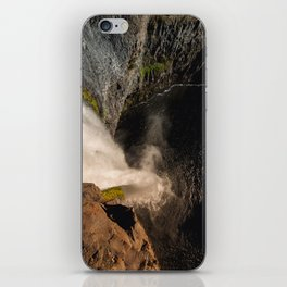 Fear of Heights - Palouse Falls iPhone Skin