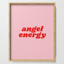 angel energy Serving Tray