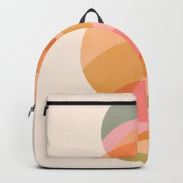 Rainbow Waves Planet Trio  Backpack