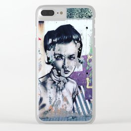 Ode to Sant Sadurni, Spain (Exhibit A) Clear iPhone Case