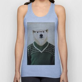 Spencer Bear Unisex Tank Top