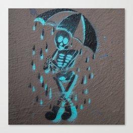 It's Rainin' Dead Men Canvas Print