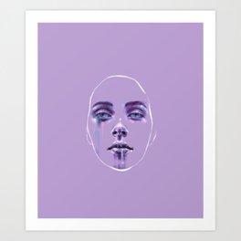 Masks We Wear Art Print