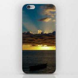 Sunset Soufriere iPhone Skin