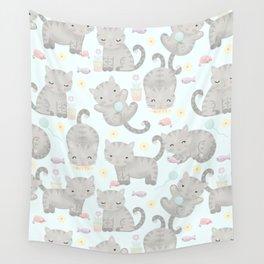 Kitten Cuteness Overload Wall Tapestry
