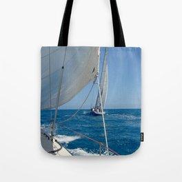 America's Cup ~ St. Maarten Tote Bag