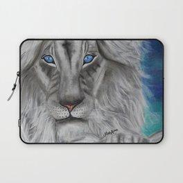 White Lions Laptop Sleeve