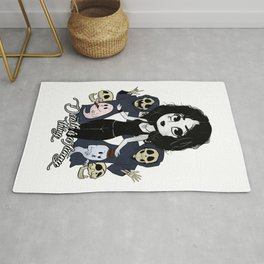 Death is a funny thing Rug