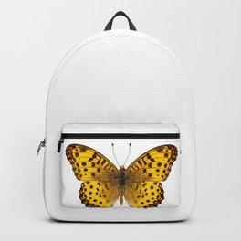 "Butterfly species Argynnis hyperbius ""Indian Fritillary"" Backpack"