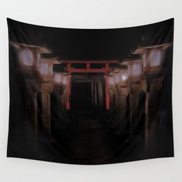 The Light Within (Kyoto, Japan) Wall Tapestry