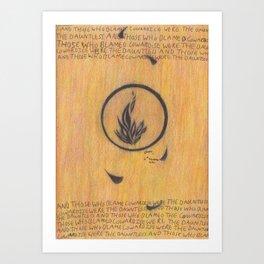 Dauntless. Art Print