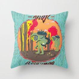 El Ser Humano Throw Pillow