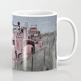 Vintage Fire Truck Coffee Mug