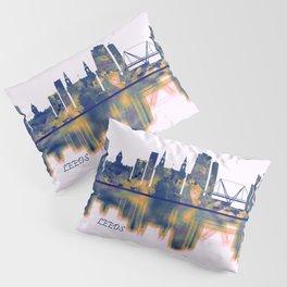 Leeds Skyline Pillow Sham