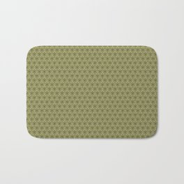 Yellow Apples Pattern Bath Mat