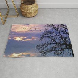 Lilac Sunset Rug