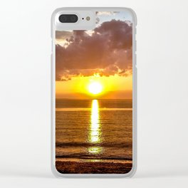 Sunset on the Chesapeake #1 Clear iPhone Case