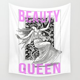 Beauty Queen Wall Tapestry