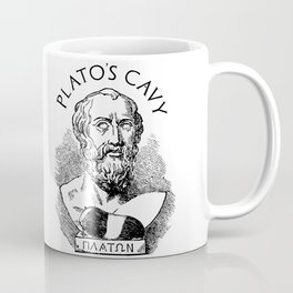 Plato's Cavy - The Allegory of the Cage Coffee Mug