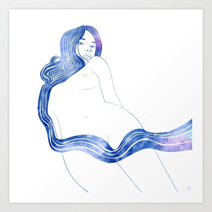 Nereid XVII Art Print