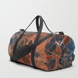 Earth Cubed Duffle Bag