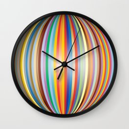 Color prisme Wall Clock